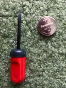 リモコンキー電池交換(スバルレガシーB4)手順の画像_1