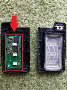 リモコンキー電池交換(スバルレガシーB4)手順の画像_4