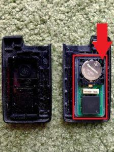 リモコンキー電池交換(スバルレガシーB4)手順の画像_5