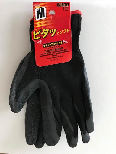 DAISOラテックスコート手袋