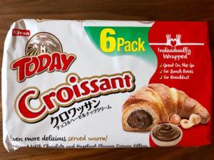 クロワッサンクリート エルバン(Elvan) クロワッサン チョコ&ヘーゼルナッツパッケージの正面