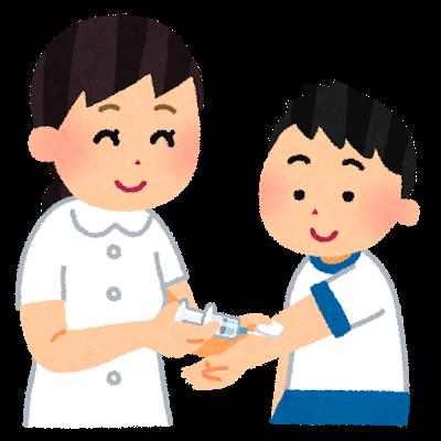 インフルエンザワクチン接種
