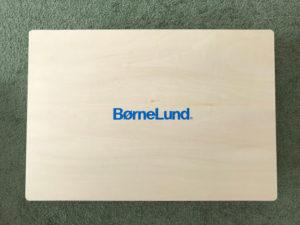 ボーネルンド オリジナル積み木 M 白木 積み木のほん付きのパッケージのふた