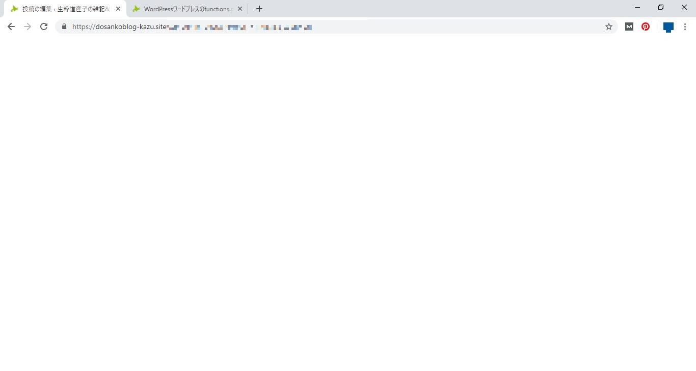 Wordpressワードプレスのfunctions Phpを編集やカスタマイズする前に