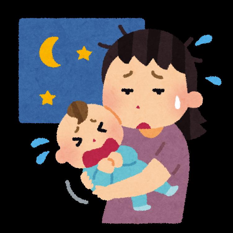 夜泣きはいつからいつまで?パパが夜泣き時の寝かしつけを始めてみた実体験談_1