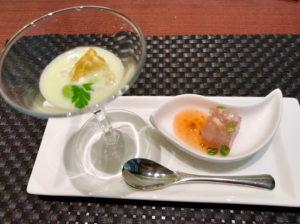 京王プラザホテル札幌レストランランチブッフェの前菜