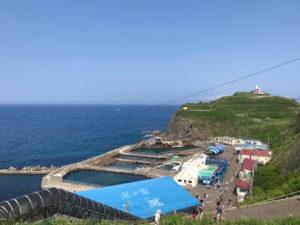 おたる水族館から見た海岸