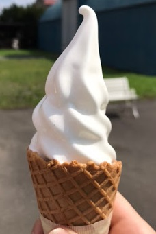 八紘学園のソフトクリーム