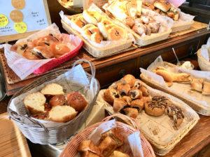 ハートブレッドアンティーク(HEART BREAD ANTIQUE)札幌南郷通店の食べ放題のパン1