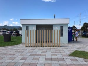 札幌明日風公園のお手洗い