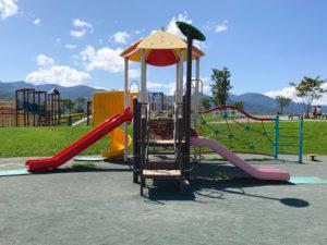 札幌明日風公園のコンビネーション遊具