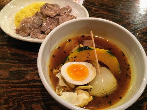 スープカレー専門店元祖札幌ドミニカのラムスープカレー