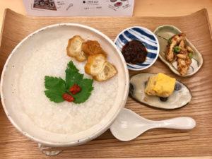 叙序圓(じょじょまる)の朝粥