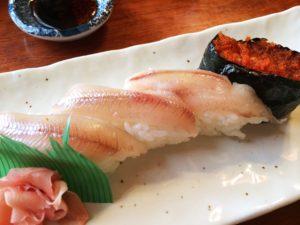 大豊寿司のししゃも寿司