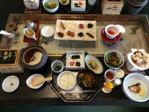 あかん鶴雅別荘鄙の座の朝食
