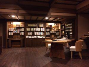 あかん鶴雅別荘鄙の座のリスニングルーム