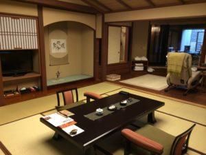 あかん鶴雅別荘鄙の座のお部屋