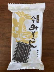 名古屋八丁みそまんのパッケージ表面