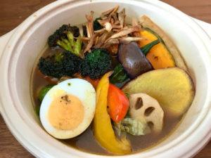 CHUTTA!(チュッタ)のスープカレー(野菜)