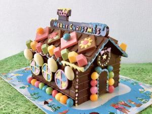 ロイズ(ROYCE')チョコレートの家のデコレーション完成版