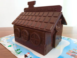 ロイズ(ROYCE')チョコレートの家の完成版