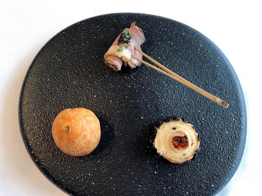 ル・ジャンティオム(Le Gentilhomme)の3種類の前菜