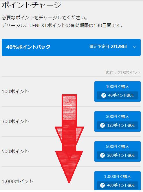 U-NEXTポイントチャージ方法手順画像_4