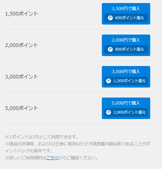 U-NEXTポイントチャージ方法手順画像_5