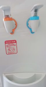 札幌で利用できるウォーターサーバーの宅配「クリクラ」の評判や口コミは無料お試しキャンペーンのサーバーの蛇口