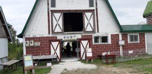 ハイジ牧場の乳牛舎