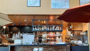 トラットリアピッツェリア ノードの厨房