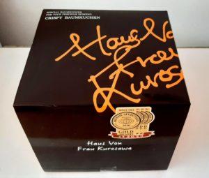 ハウス フォン フラウ クロサワ(Haus Von Frau Kurosawa)のCRISPY BAUMKUCHENの箱