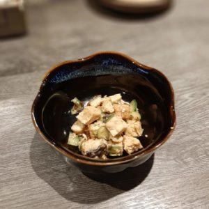 繚乱の木綿豆腐ときゅうり