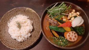 札幌路地裏スープカリィ侍サムライ(SAMURAI)北22条店の一日分の野菜20品目