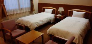 芦別温泉スターライトホテルの部屋(ユニバーサルツイン)