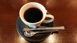 タイガーカレーのランチのドリンク(ホットコーヒー)