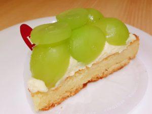 洋菓子スイーツきのとやKINOTOYAファーム店・KINOTOYA cafeのシャインマスカットタルト