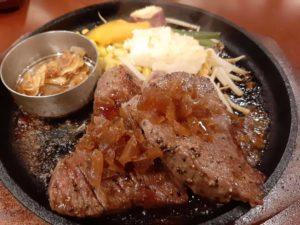 黒牛セブン7の熟成イチボステーキ(200g)