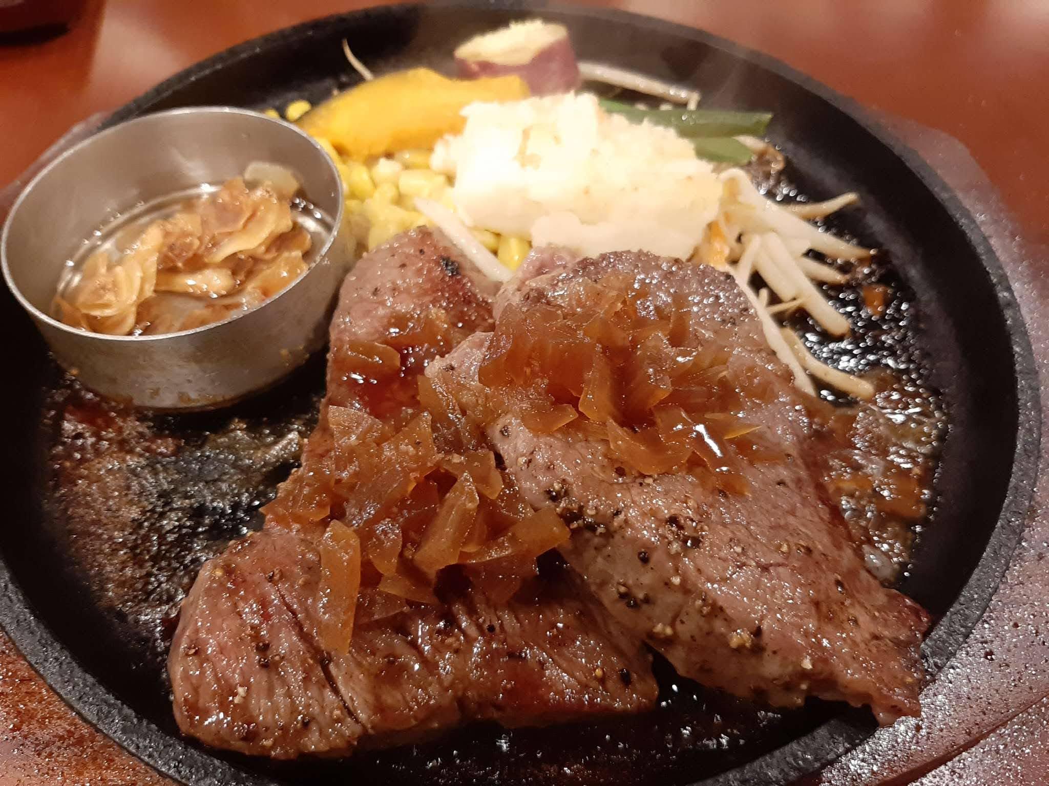 黒牛セブン7のイチボステーキ(200g)