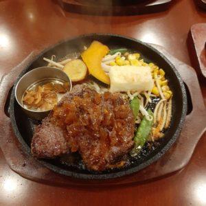 黒牛セブン7のランプステーキ(200g)