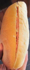 三笠高校生レストラン MIKASA COOKING ESSORのコッペパン(つぶつぶ芳醇いちご)