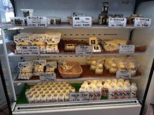ニセコ高橋牧場ミルク工房の乳製品
