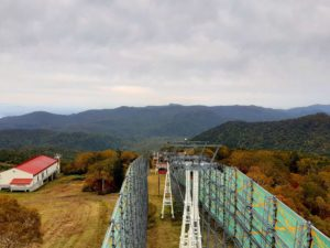 【2020年】定山渓高原札幌国際スキー場の紅葉ゴンドラ秋祭り【山頂からの景色】
